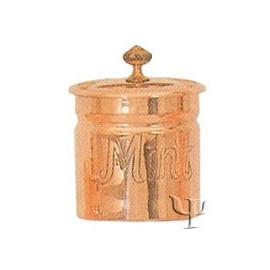 Turkish Copper Spice Set (Mint Container)