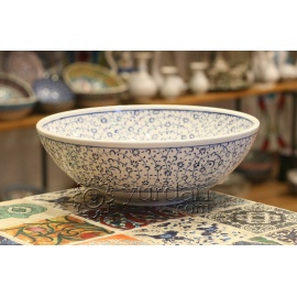 Iznik Design Ceramic Bowl - Halic