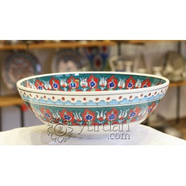 Iznik Design Ceramic Bowl - Classical Iznik