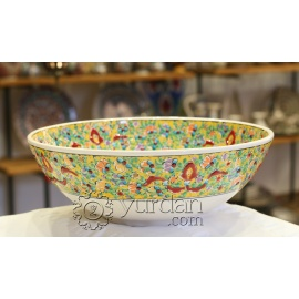 Iznik Design Ceramic Bowl - Tezhip