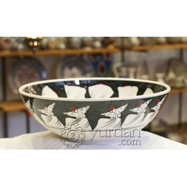 Dervish Design Ceramic Bowl - Derwish