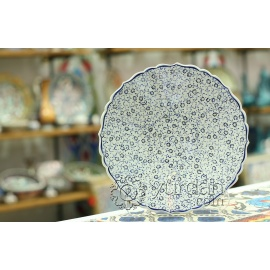 Iznik Design Ceramic Plate - Halic