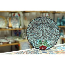 Iznik Design Ceramic Plate - Tree of Life