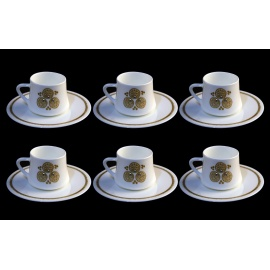 Fine Bone China Coffe Cup Set