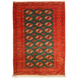 Central Asian Rug - Bokhara Carpet