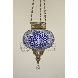 Mosaic Hanging Lamp - Candle Holder - FREE SHIPPING