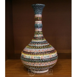 Iznik Design Ceramic Vase