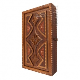 Intarsia Turkish Backgammon