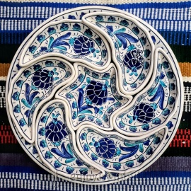 Iznik Design Ceramic Breakfast Set - FREE SHIPPING