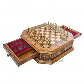 Octagon Chess Set