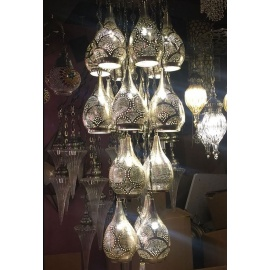 Alsahara Chandelier with 19 Globes