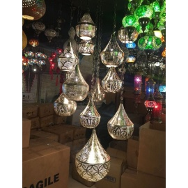 Alsahara Chandelier with 16 Globes