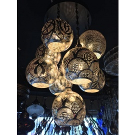 Alsahara Chandelier with 9 Globes
