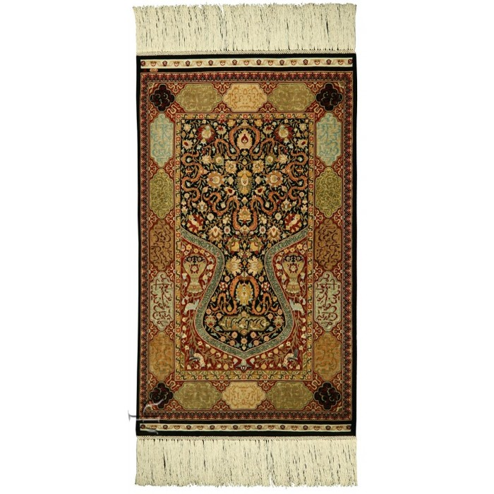 Turkish Rug Super Fine Hereke Silk