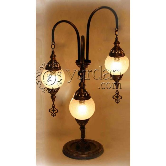 Ottoman Floor Lamp With 3 Globes Enjoyistanbul Com
