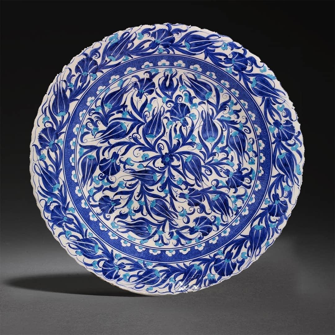 Turkish Ceramic Plates Iznik Ceramic Plates Turkish Iznik Pottery Handmade Ceramic Plates Decorative Ceramics Enjoyistanbul Com